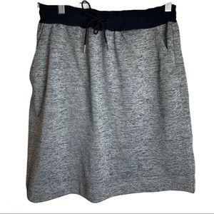 🔥Joe Fresh Comfortable Grey & Navy Skirt Small